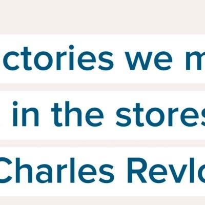 En las fábricas hacemos perfume, pero en las tiendas vendemos esperanza