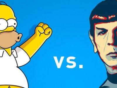 vendes a homer simpson o a mr spock
